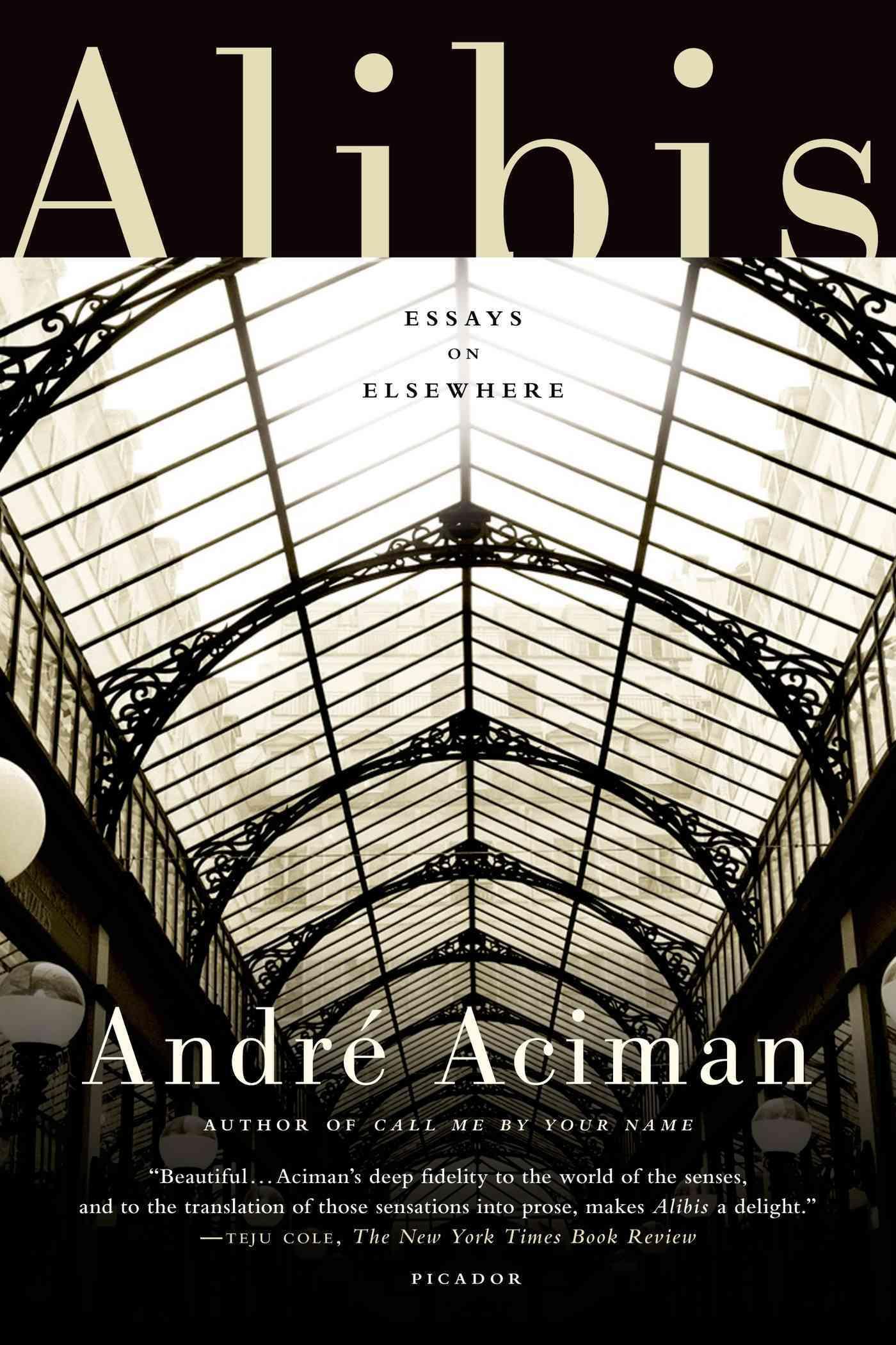 Alibis By Aciman, Andre